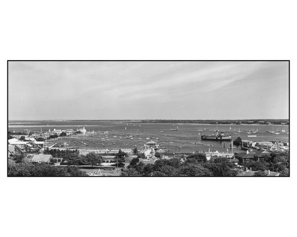 Nantucket Harbor and the SS Nobska