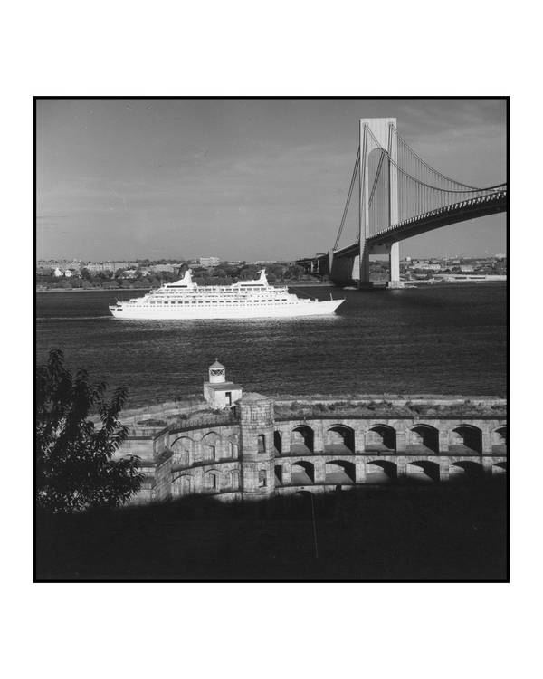 Leaving New York,View from Fort Wadsworth