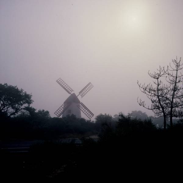 Old Mill in Fog