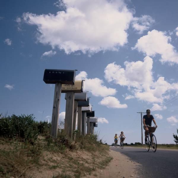 Biking to Cisco Beach
