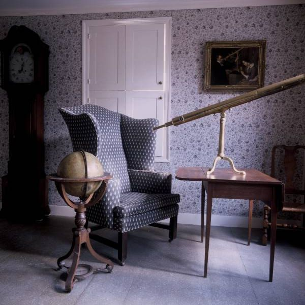 Maria Mitchell House Parlor