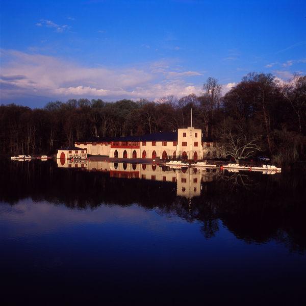 Boat House at Dawn