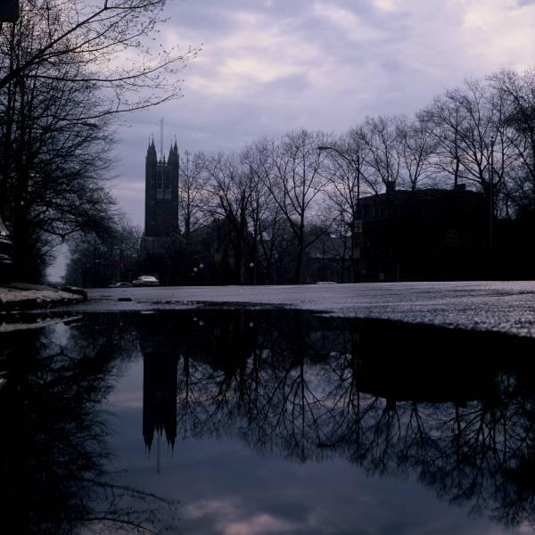 Holder Hall Reflection