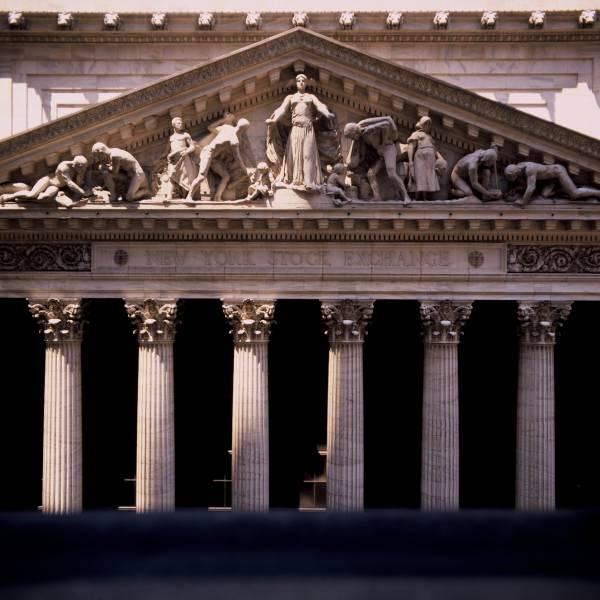 New York Stock Exchange Pediment