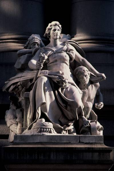 ?America? at U.S. Custom House by Daniel Chester French