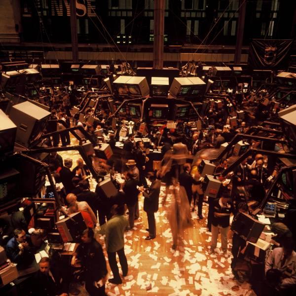 New York Stock Exchange Trading Floor II