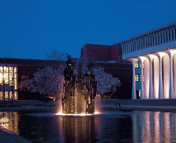 Scudder Plaza At The Woodrow Wilson School